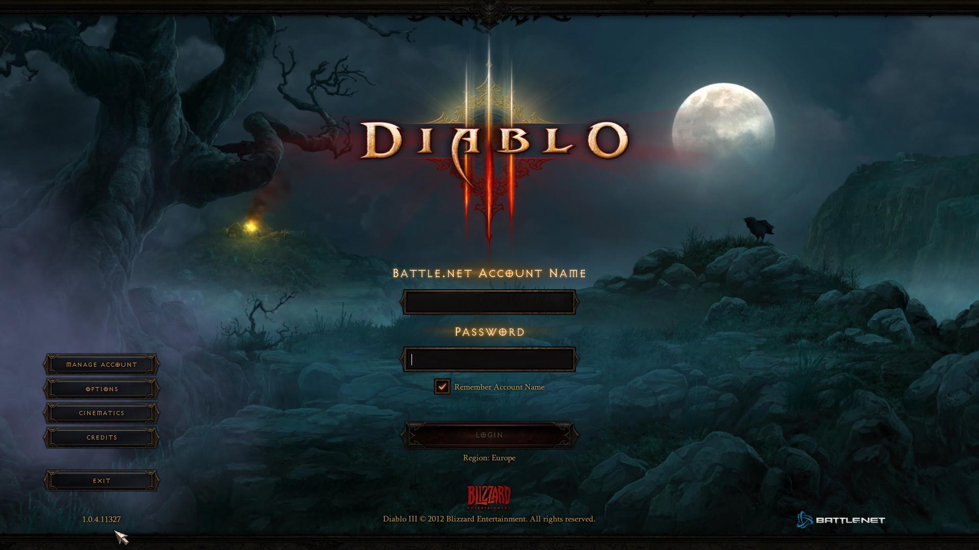 Diablo 3 1.0.5 PTR czyli jak pozbyć się error 12 screnshot 1