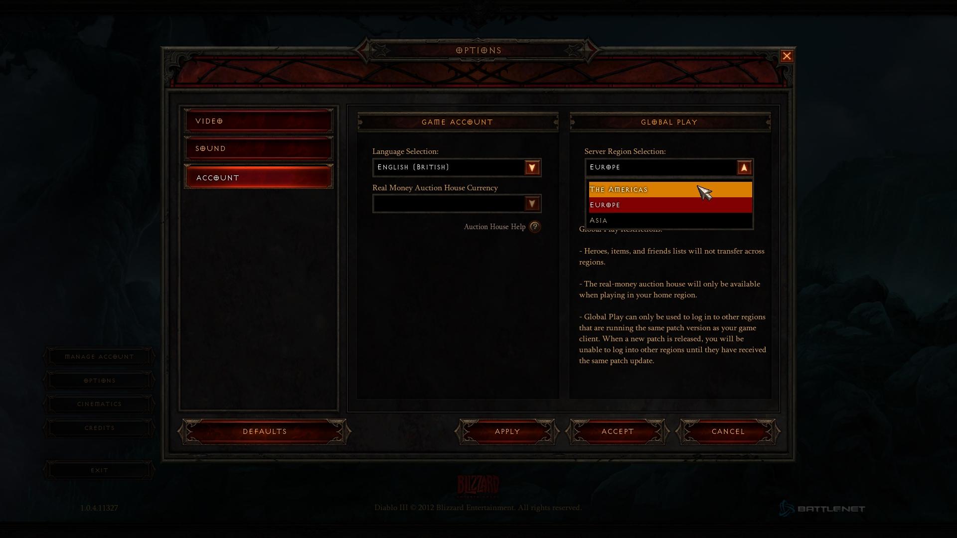 Diablo 3 1.0.5 PTR czyli jak pozbyć się error 12 screnshot 2