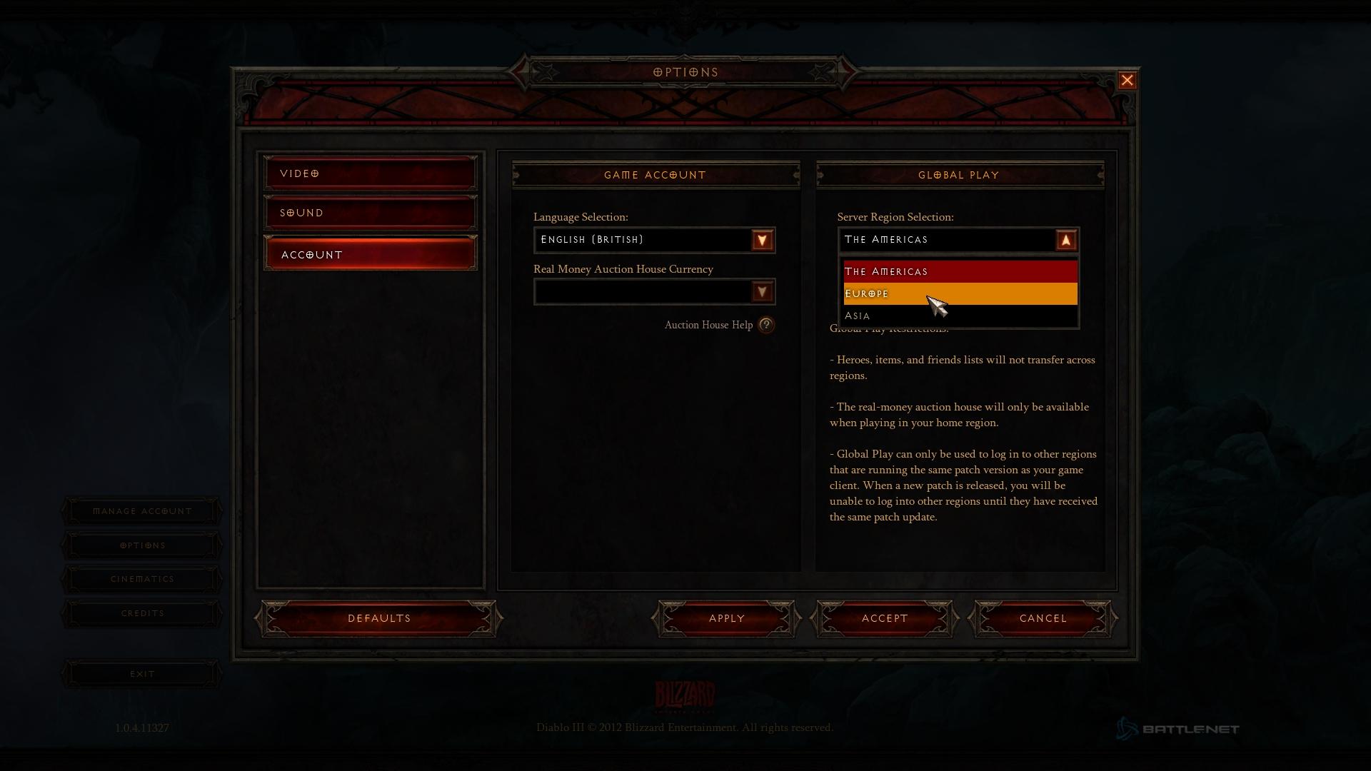 Diablo 3 1.0.5 PTR czyli jak pozbyć się error 12 screnshot 6