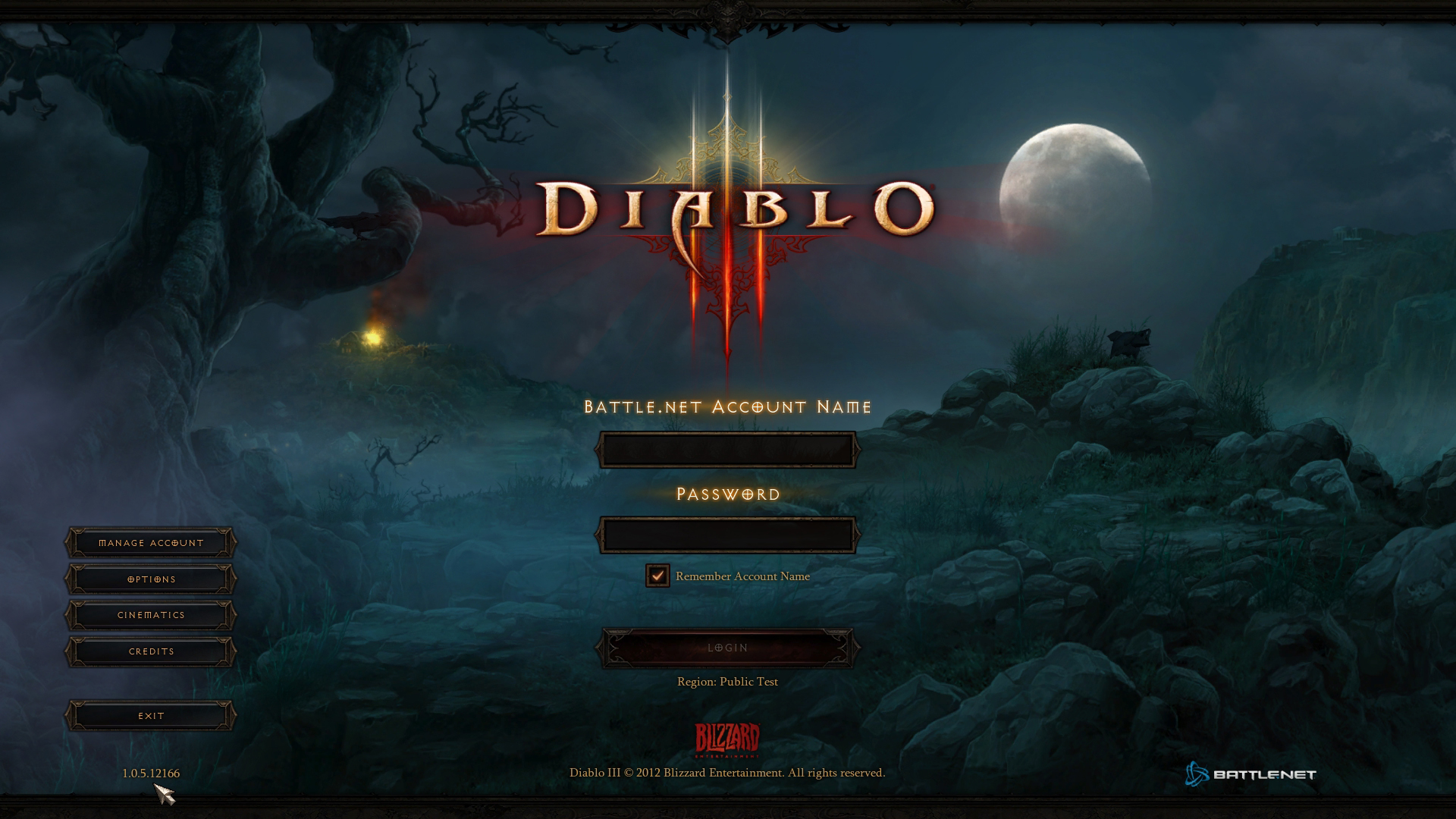 Diablo 3 1.0.5 PTR czyli jak pozbyć się error 12 screnshot 9
