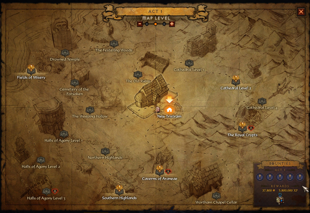 bounties act 1diablo 3